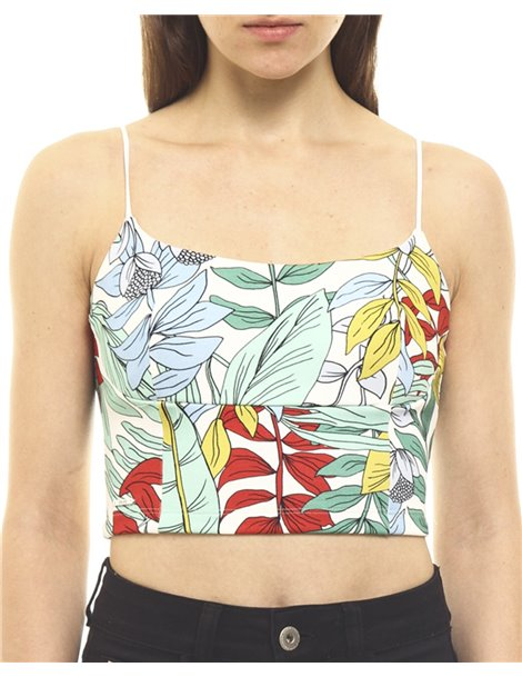 Croptop estampado